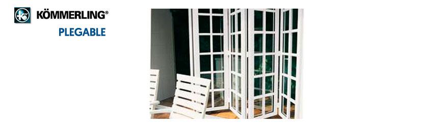 puertas plegable de Kömmerling en Lopez Ferriz