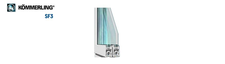 ventanas sf3 de Kömmerling en Lopez Ferriz